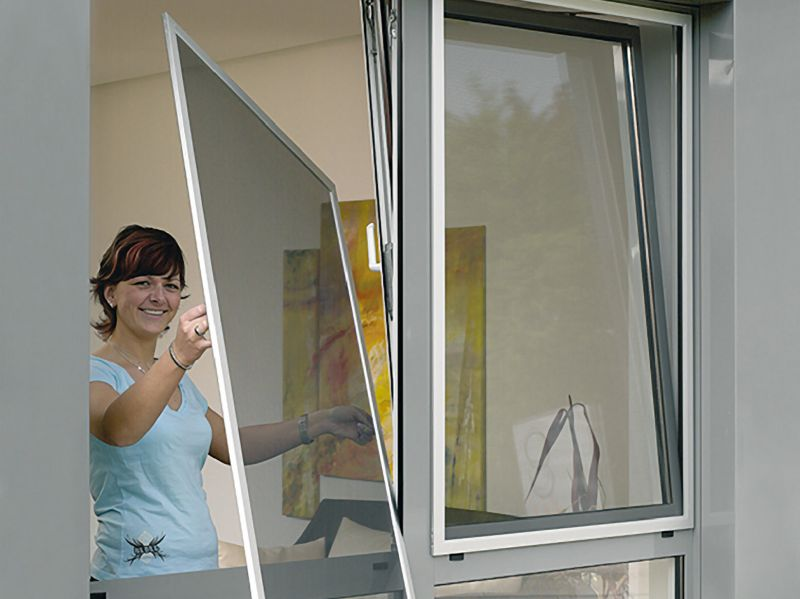 Сколько стоит москитная сетка на окно