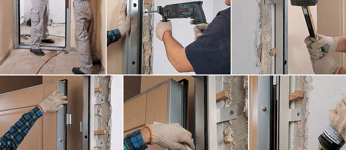 Стоимость услуг по доставке и установке входных стальных дверей в Ступинском и Каширском районе