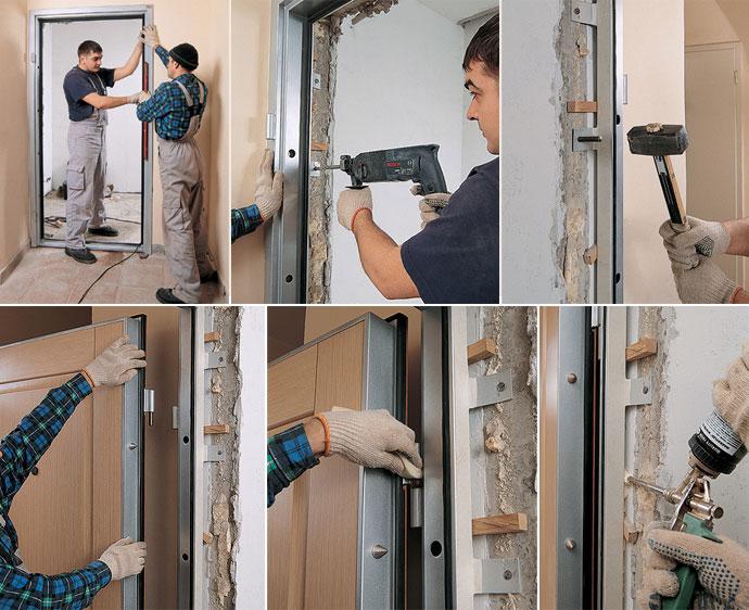 Установка входных дверей в Ступинском и Каширском районе