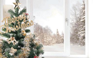 пластиковые окна новогодняя акция