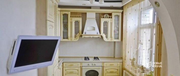 Телевизор в кухне. Правила размещения