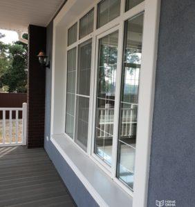 Окна для коттеджа или дачи